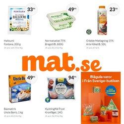 Erbjudanden från Matbutiker i Mat.se ( Publicerades idag)