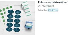Böcker och kontor erbjudanden i Vistaprint katalogen i Stockholm