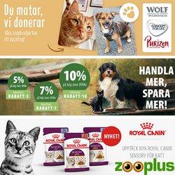 Erbjudanden från Matbutiker i Zooplus ( 3 dagar kvar)