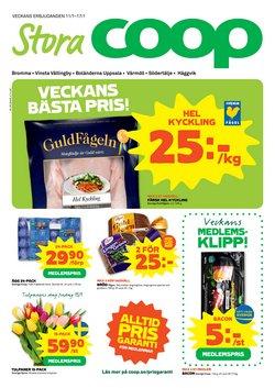 Stora Coop-katalog i Stockholm ( Går ut imorgon )