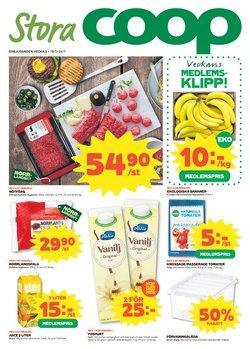 Matbutiker erbjudanden i Stora Coop katalogen i Skellefteå ( Går ut idag )