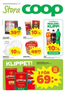 Matbutiker erbjudanden i Stora Coop katalogen i Varberg ( 3 dagar kvar )