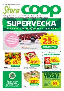 Erbjudanden från Matbutiker i Stora Coop ( Publicerades igår)