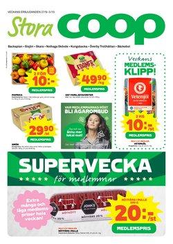 Erbjudanden från Matbutiker i Stora Coop ( Publicerades idag)