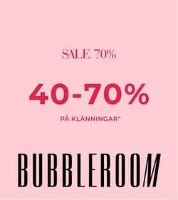 Erbjudanden från Bubbleroom i Bubbleroom ( Mer än en månad)