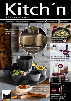 Kitch'n-katalog ( Mer än en månad)