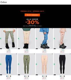 Kläder, Skor och Accessoarer erbjudanden i Cubus katalogen i Göteborg ( Går ut imorgon )