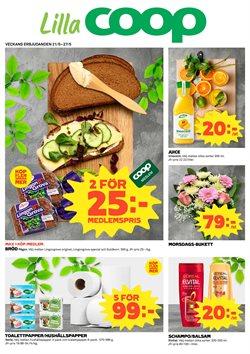 Restauranger och Caféer erbjudanden i Lilla Coop katalogen i Stockholm