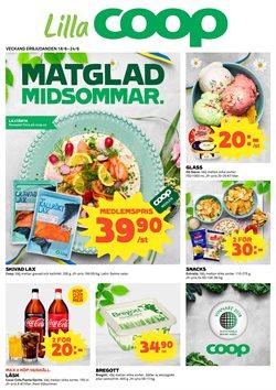 Restauranger och Caféer erbjudanden i Lilla Coop katalogen i Lidingö