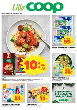 Restauranger och Caféer erbjudanden i Lilla Coop katalogen i Åkersberga