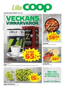 Restauranger och Caféer erbjudanden i Lilla Coop katalogen i Trelleborg