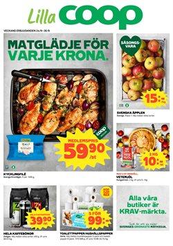 Restauranger och Caféer erbjudanden i Lilla Coop katalogen i Nacka