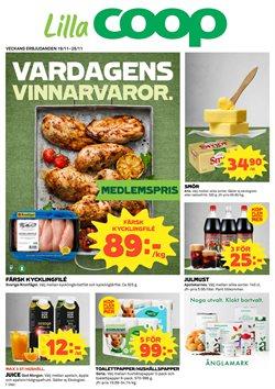 Restauranger och Caféer erbjudanden i Lilla Coop katalogen i Huddinge