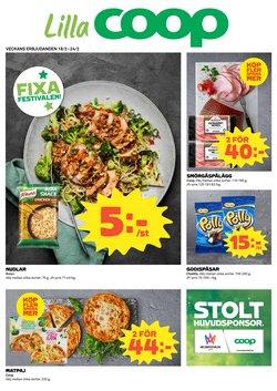 Restauranger och Caféer erbjudanden i Lilla Coop katalogen i Burlöv