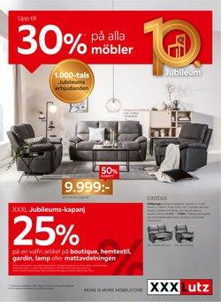 Erbjudanden från Möbler och Inredning i XXXLutz ( Mer än en månad)