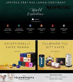 Erbjudanden i kategorin Kaffe i Nespresso