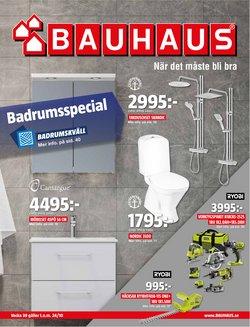 Erbjudanden från Bygg och Trädgård i Bauhaus ( Publicerades idag)