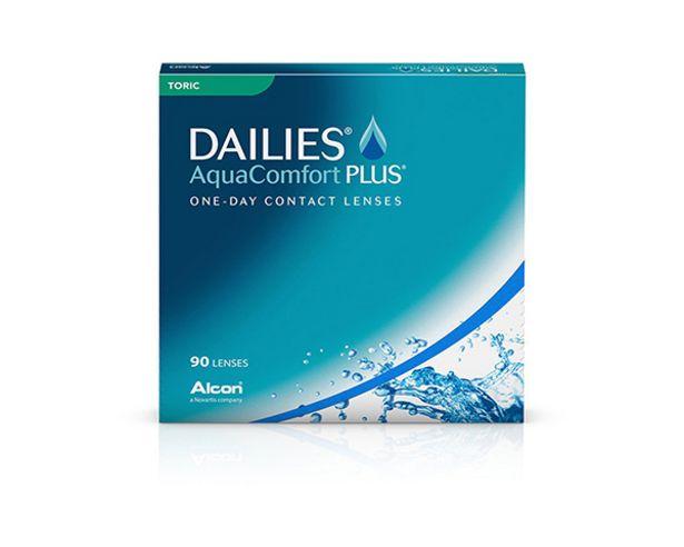 Dailies Aqua Comfort Plus Toric 90 linser för 682 kr