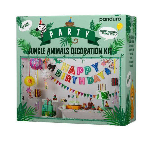 Party kit Jungle Animals för 120 kr
