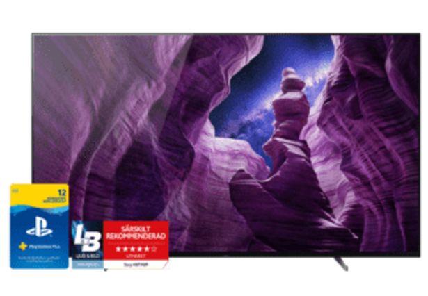 "SONY A87 65"" Smart Android 4K OLED TV - KD65A87BAEP för 19990 kr"