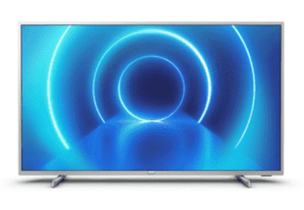 "PHILIPS 43"" Smart LED-TV med 4K UHD 43PUS7555/12 för 4490 kr"