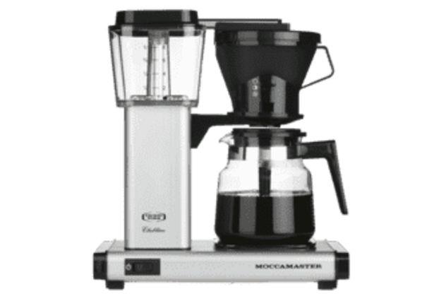 MOCCAMASTER HB951 AO Kaffebryggare i matt silver - 5 års garanti för 1690 kr