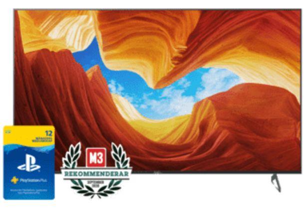 "SONY XH90 65"" Smart Android 4K TV - KD65XH9077SAEP för 12990 kr"