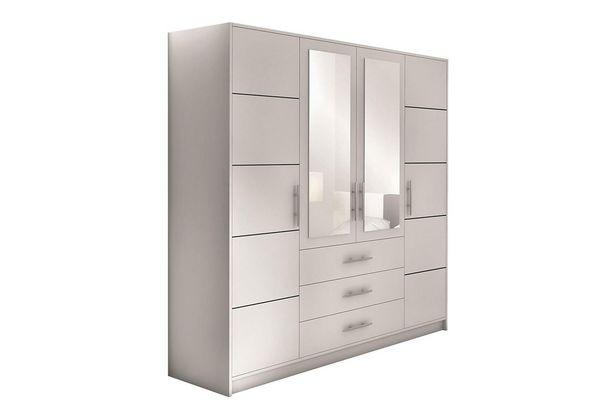 Garderob Ordino 196 cm för 4995 kr