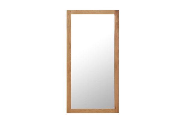 Spegel 60x120 cm massiv ek för 1795 kr
