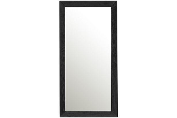 Spegel MONDEO 80x40cm ram: ek färg: svart för 1295 kr