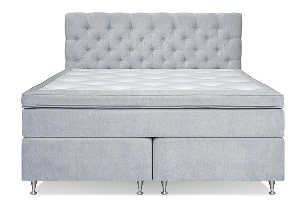 FLORENS Sängpaket Kontinentalsäng 180x200 Ljusgrå för 14995 kr