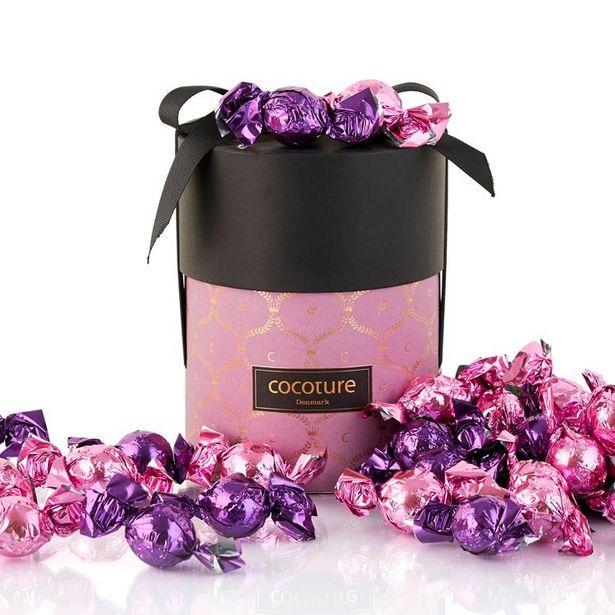 Cylinderbox med choklad för 295 kr