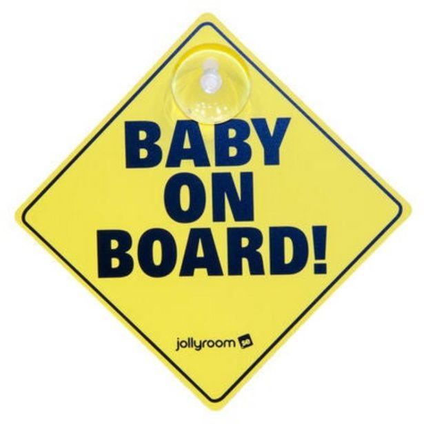 Baby On Board Skylt för 69 kr