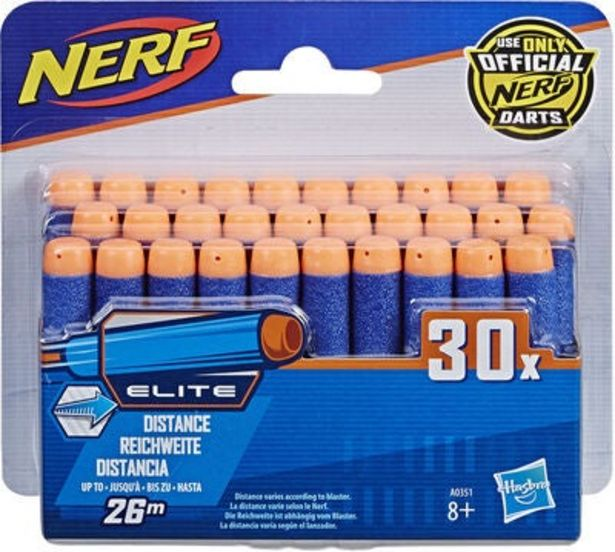 Nerf Nstrike Dart Refill 30-pack för 145 kr