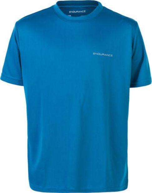 Endurance Vernon Performance T-shirt, Mykonos Blue för 79 kr