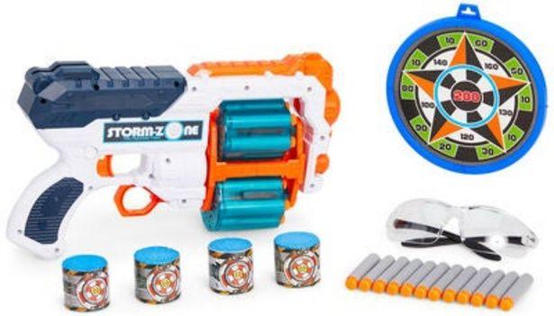 Fippla Dart Blaster Stor, Vit för 149 kr