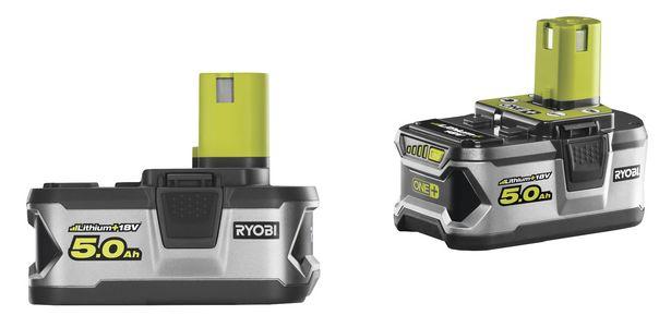 Batterier Ryobi RB18LL50 2x5,0AH 18v för 1899 kr