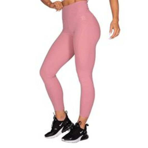 High Waist Leggings, Heather Pink för 359,4 kr