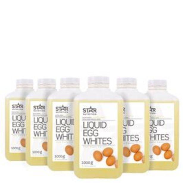6 x Flytande äggvita, BIG BUY 1000 ml för 375 kr