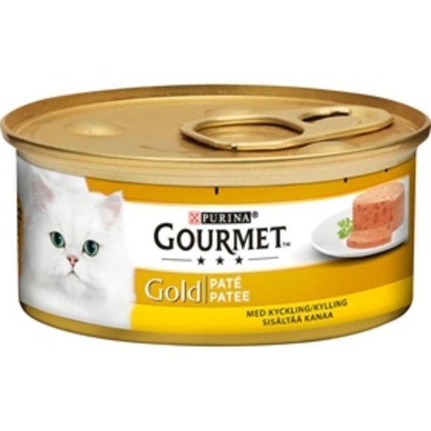 Våtfoder Gourmet Gold Paté Kyckling för 7 kr