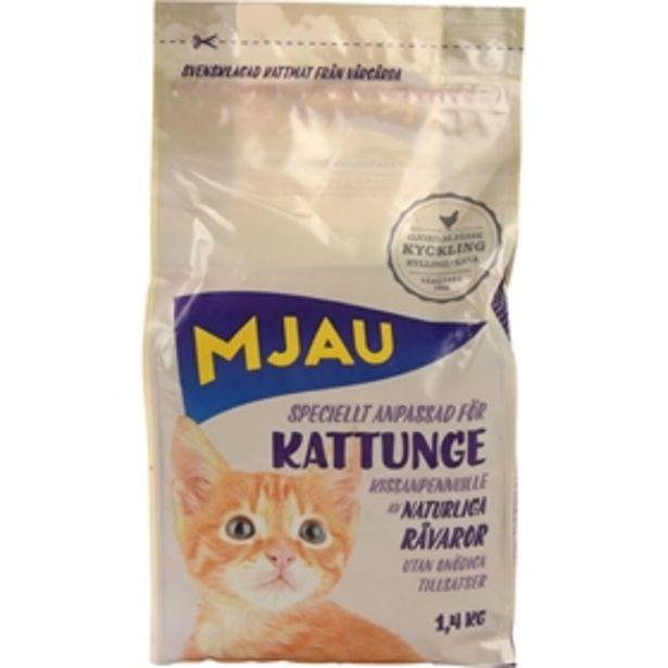 Torrfoder Mjau Kattunge för 52 kr