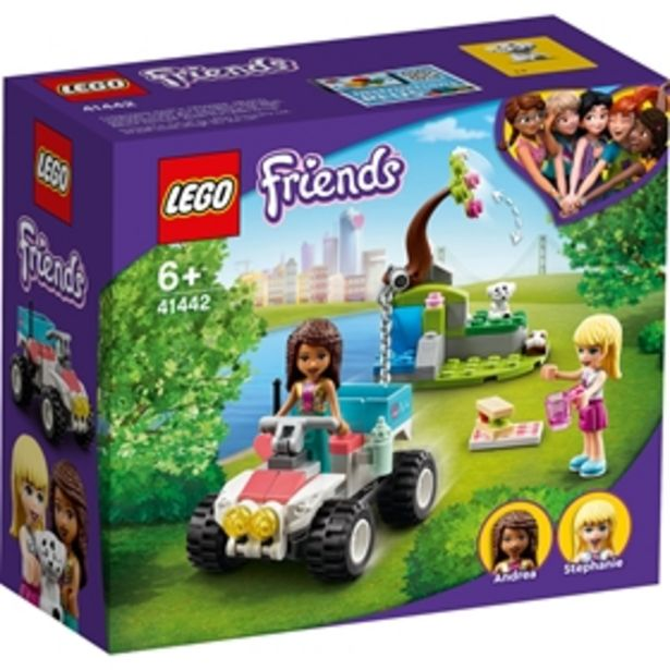 Byggklossar LEGO Friends Veterinärklinikens räddningsbuggy 41442 för 129 kr