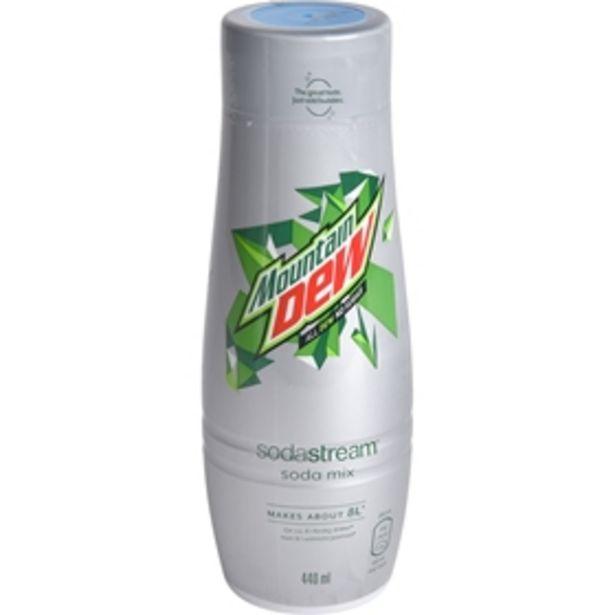 Kolsyresmak Sodastream Mountain Dew Diet för 59 kr