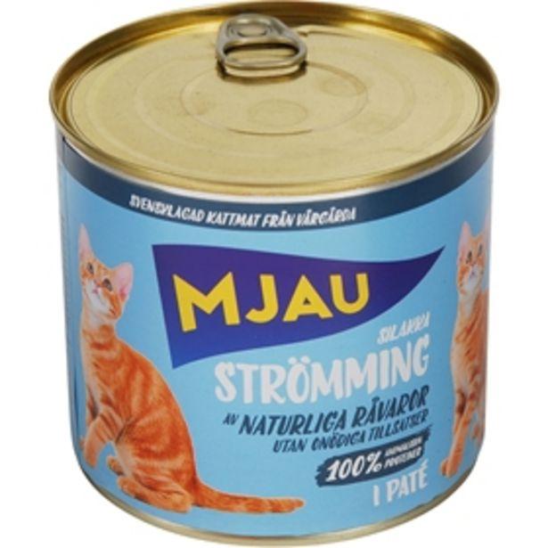 Våtfoder Mjau Strömming i Paté för 14 kr