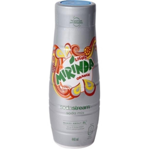 Kolsyresmak Sodastream Mirinda Light för 59 kr