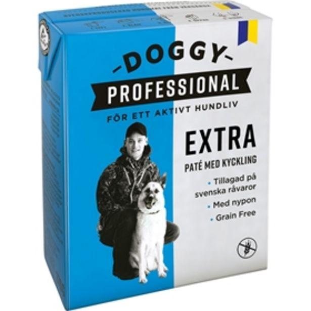 Våtfoder Doggy Professional Extra för 19 kr