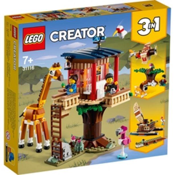 Byggklossar LEGO Creator Safariträdkoja 31116 för 399 kr