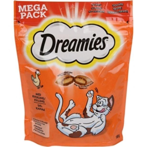 Kattgodis Dreamies Kyckling för 35 kr