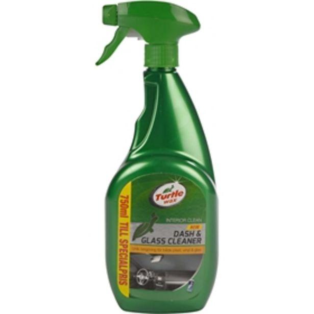 Rengöringsspray Turtle Wax Dash & Glass Cleaner för 49 kr