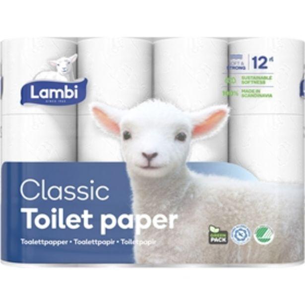 Toalettpapper Lambi för 49 kr